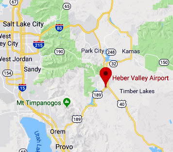 Map & Directions to Heber City Municipal Airport (KHCR)